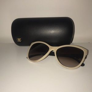Chanel 5281 q Butterfly Bow Sunglasses
